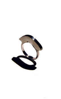 Wimbi wave ring by K Rothwell Jewellery Product photo