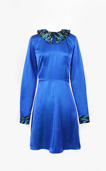 Ultramarine dress by Rainbow Winters Product photo