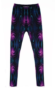 Oil slick leggings by Rainbow Winters Product photo