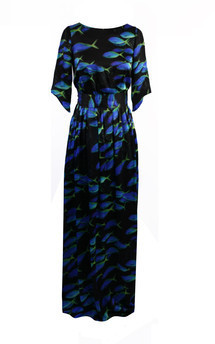 Maxi fish dress by Rainbow Winters Product photo