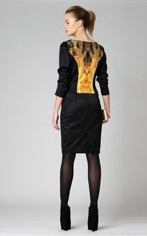 Louisa long sleeved dress by Xsenia & Olya Product photo