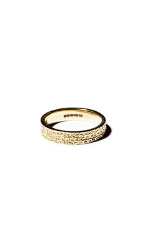 Gold scatter ring by Becky Dockree Jewellery Product photo