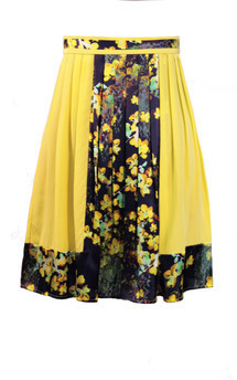 Blossoms that dance skirt by Kelly Love Product photo
