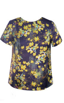 Blossoms that dance top by Kelly Love Product photo