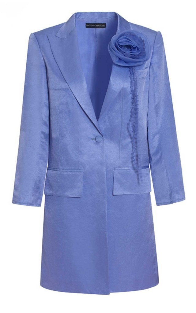 Silk Linen Tailored Jacket by Danilo Gabrielli
