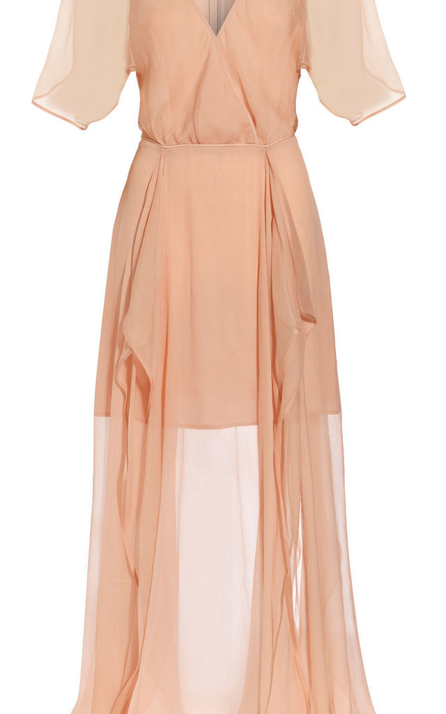 Romantic Silk Flowing Dress by Danilo Gabrielli