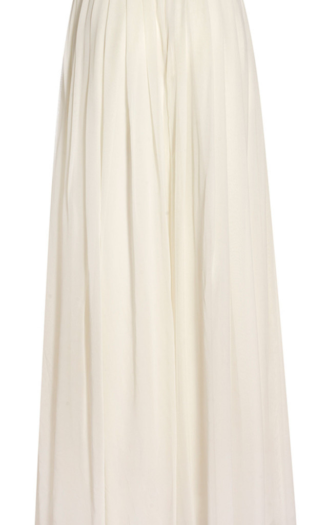 High Waisted Pleated Silk Trousers by Danilo Gabrielli