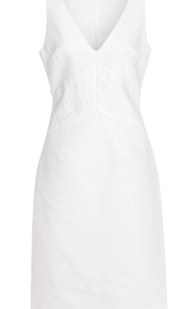 Sleeveless Cotton Pleated Dress by Danilo Gabrielli