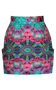 Yo Ninja Skirt by Dominique Kral Product photo