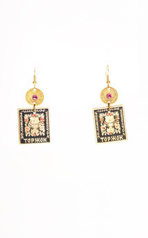Vasillisa Earrings by Anna Kompaniets Product photo