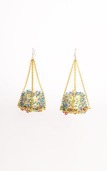 Freisia earrings by Anna Kompaniets Product photo