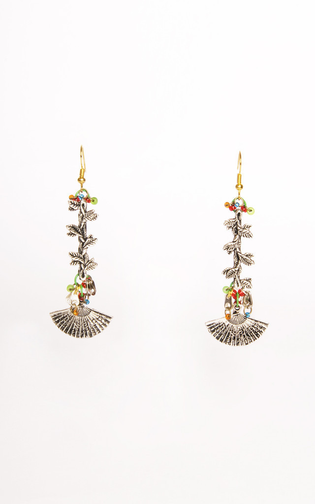 Carmen Earrings by Anna Kompaniets