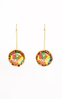 Lilianne earrings by Anna Kompaniets Product photo