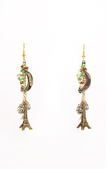 Midnight In Paris Earrings by Anna Kompaniets Product photo