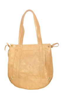 Harper leather shoulder bag by Amy George Product photo