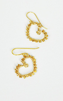 Warm summer's day earrings by Gena Myint Product photo