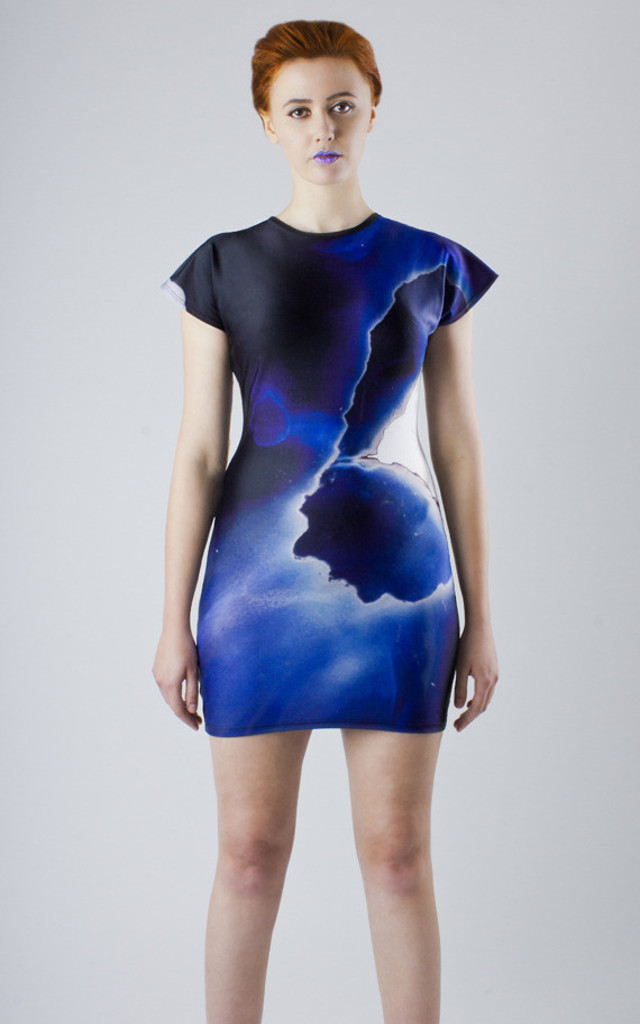 Heaviness of Heart Bodycon Dress by Phoebe Quare
