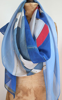 Star spangled hut. scarf by Life + liberty. Product photo