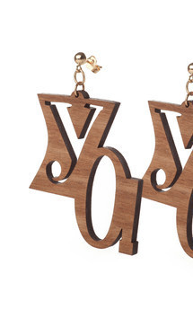 """yo!"" earrings by Lili & Ida Product photo"