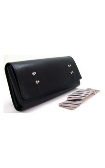 Leather clutch by Renush Product photo