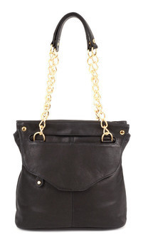 Lee shoulder bag- black leather by Shana Luther Handbags Product photo
