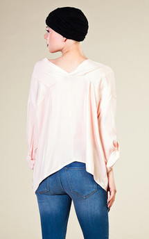 Basic shirt pale pink by LAZY TWINS Product photo