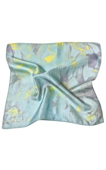Wind dance cyan (pocket square) by [MAH] MADABOUTHUE Product photo