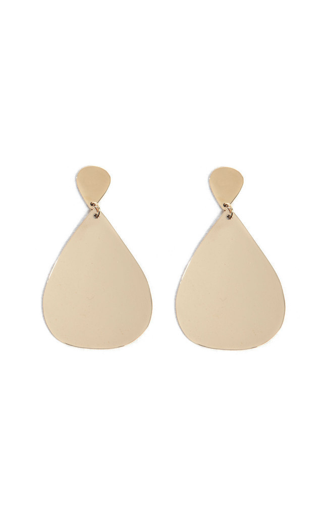 Large Teardrop Dangle Earrings by Bare Collection