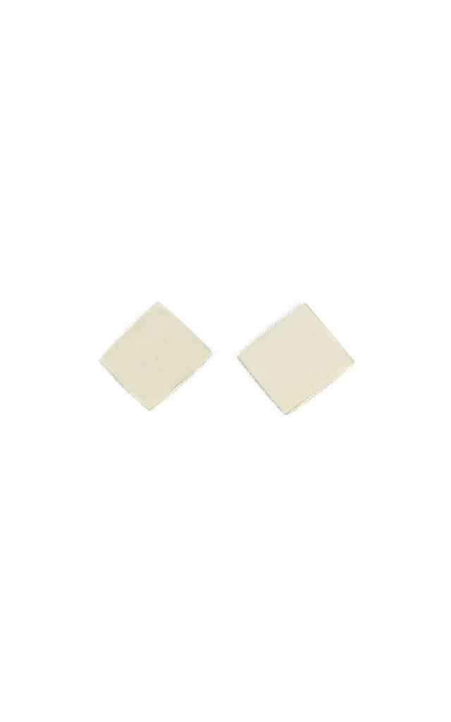 Square Stud Earrings by Bare Collection