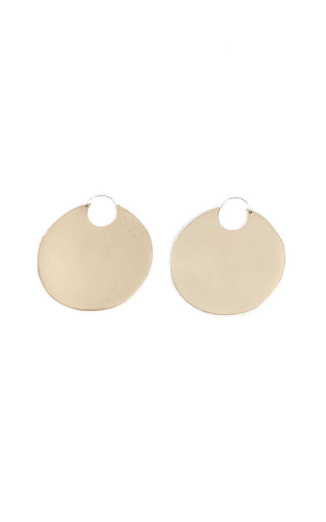 Circle Hoop Earring by Bare Collection