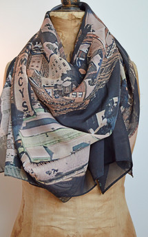 Forest. scarf (brownstone) by Life + liberty. Product photo