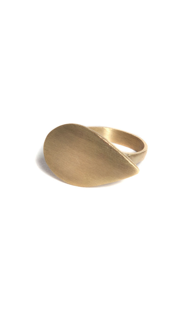 Teardrop Point Ring by Bare Collection