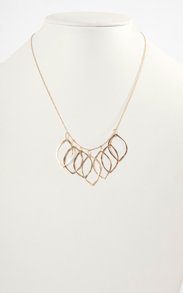 7 Leaves Necklace by Bare Collection
