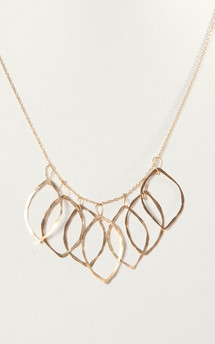 7 leaves necklace by Bare Collection Product photo