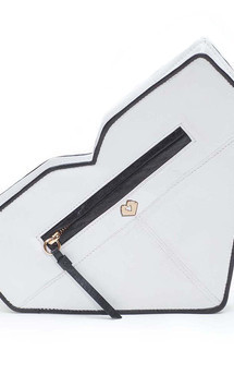 Essex clutch - white & black by MARYLAI NEW YORK Product photo