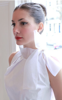 Big bow blouse by Etrala London Product photo