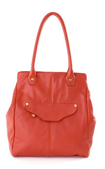 William tote- brick leather by Shana Luther Handbags Product photo
