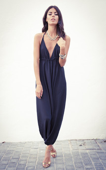 Genie jumpsuit in black  by Dancing Leopard Product photo