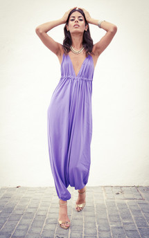 Genie jumpsuit in lilac  by Dancing Leopard Product photo