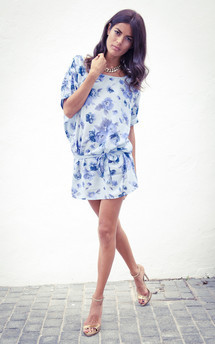 Ibiza dress in blue rose - sold out by Dancing Leopard Product photo