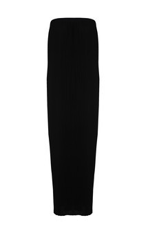 Black pleated maxi dress #rachel limited edition by Fazane Malik Product photo