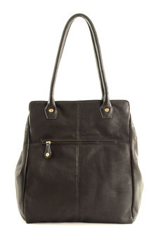William tote- black leather by Shana Luther Handbags Product photo