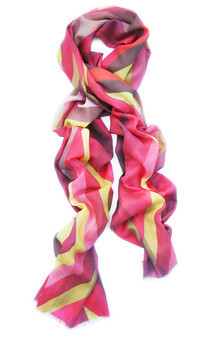 Gouliot pink scarf by CLAIRE GAUDION Product photo