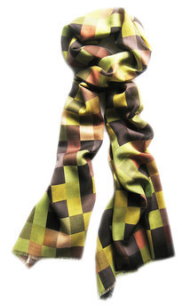 Icart large scarf by CLAIRE GAUDION Product photo