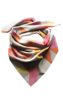Albecq silk square by CLAIRE GAUDION Product photo
