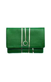 Hyde park in green leather by Torula Bags Product photo