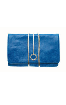 Hyde park in turquoise leather by Torula Bags Product photo