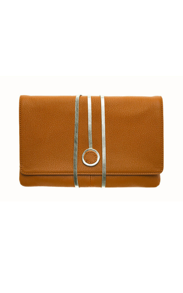 Hyde Park in Rusty Orange Leather by Emeline Coates