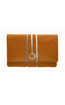 Hyde park in rusty orange leather by Torula Bags Product photo