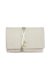 Hyde park in white leather by Torula Bags Product photo